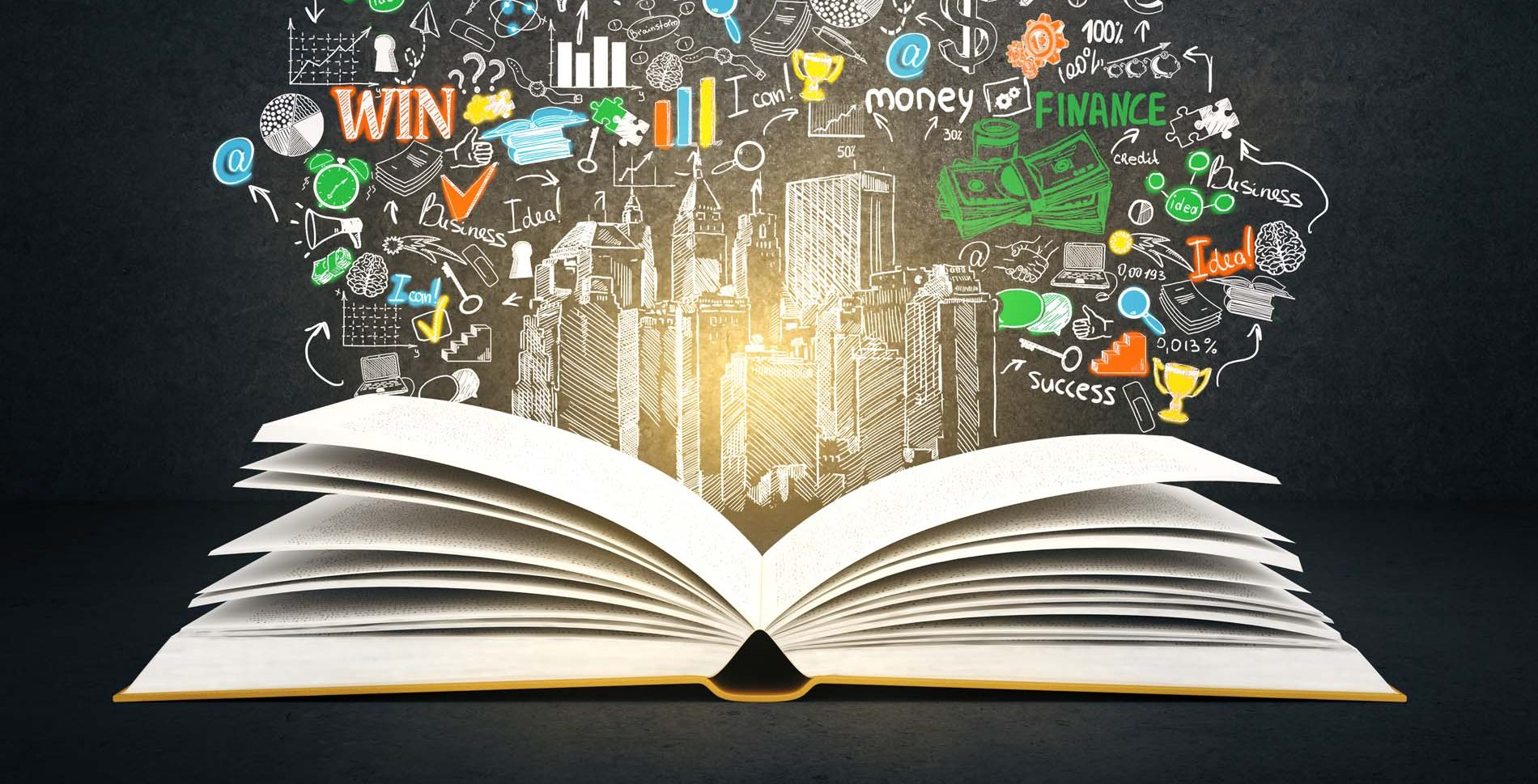 Open book rendering Education