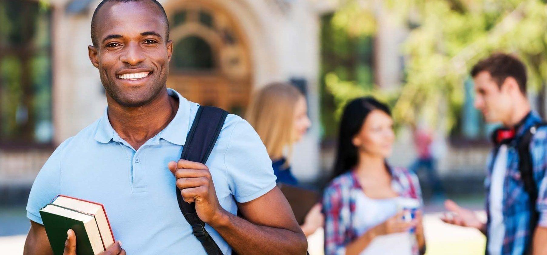 Student enjoying University Life.